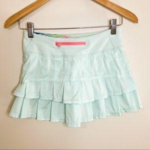 Lululemon Ivivva Tennis Skirt Light Blue Size 12